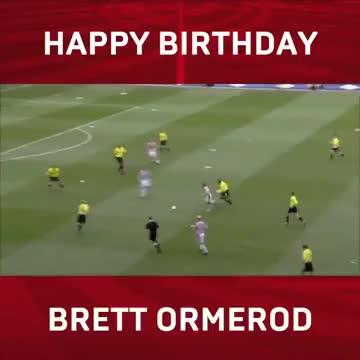 今天是前南安普顿球员布雷特-奥尔梅罗德41岁的生日,在...